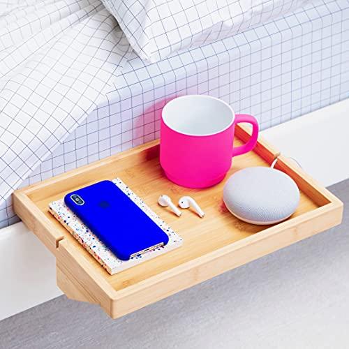 BedShelfie The Original Bedside Shelf - 9 Colors / 4 Sizes -...