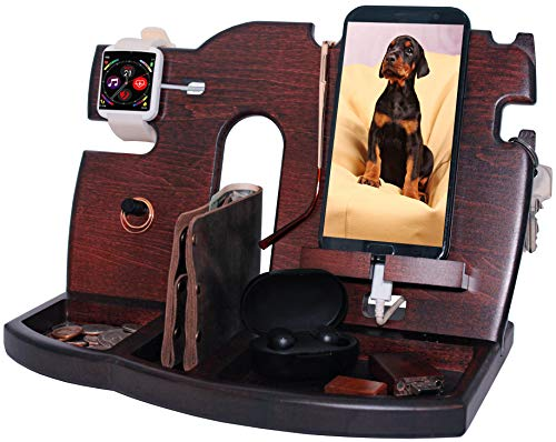 BarvA Wood Docking Station Tray Cel…