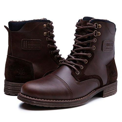 GW Mens Winter Water Resistance Boot (10.5 M US, 16523dk,Brown)