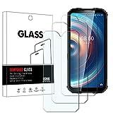 YISPIRIN Protector de pantalla de cristal templado para Oukitel WP10, dureza 9H, antiarañazos, sin burbujas, protector de pantalla HD para Oukitel WP10