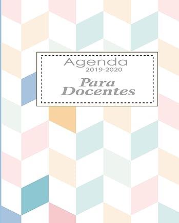 Agenda 2019-2020 Para Docentes: Planificador y Agenda para ...