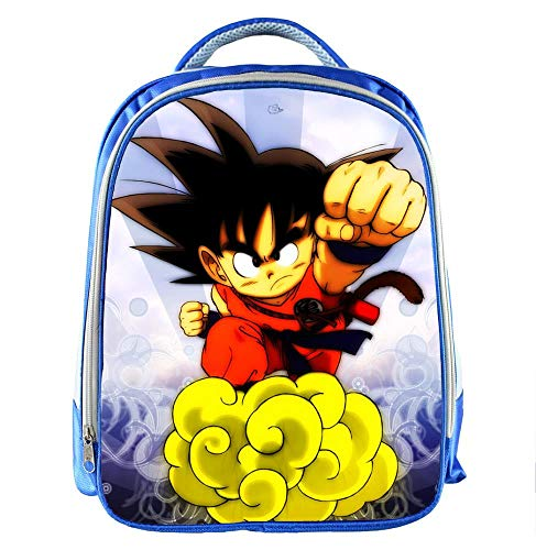 Ou lida Libro da colorare di Dragon Ball Stampa Zaino Unisex Cartone Animato per Bambini Cartella Zaino Studenti 3