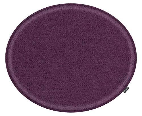 Feltd. Eco Filz Kissen geeignet für Fritz Hansen, Arne Jacobsen Serie 7 Stuhl, 3107-29 Farben - optional inkl. Antirutsch und gepolstert! (aubergine)