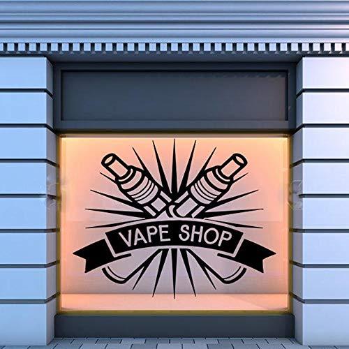 sanzangtang Shop Logo Wall Window Decal Sticker Shop Glas Wall Sticker Waterproof Decal