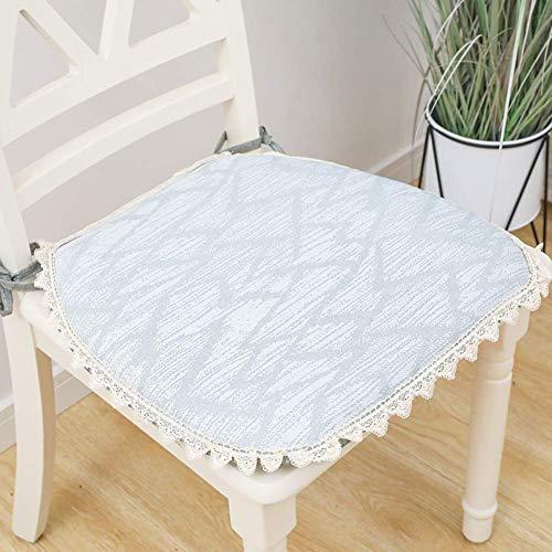 1 unids verano sin deslizamiento para silla de comedor cojines, almohadillas de seguridad en forma de U interior fresco de tatami de tatami de tatami para casa, almohadillas de silla de cocina, cojín,