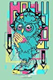 Dotted Line Notebook: Owl Prayer | Tattoo Artist Notebook | 120 Pages 6x9 in | Pretty Notebook for G...