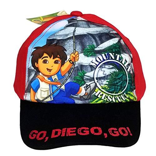 Rouge Go Diego Go Casquette de baseball – Go Diego Go Chapeau