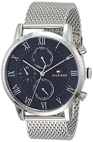 Tommy Hilfiger Analog Blue Dial Men's Watch - TH1791398