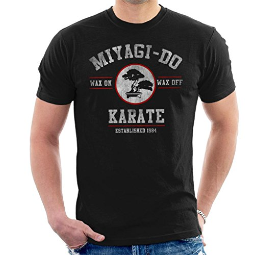 Miyagi Do Karate Kid Wax On Wax Off Men's T-Shirt