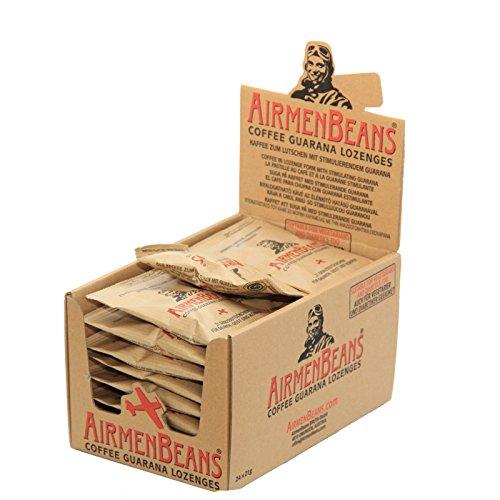 AirmenBeans Airmen Beans 24x Kaffee Pastillen Guarana 504 St, 24xDE1001