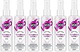 VO5Give Me Texture, spray con sales marinas, 150ml, pack de 6