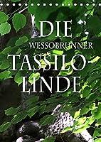 Die Wessobrunner Tassilolinde (Tischkalender 2022 DIN A5 hoch): Ein maechtiger alter Baum, der eng verbunden ist mit der Legende, wie das Kloster Wessobrunn gegruendet wurde (Monatskalender, 14 Seiten )