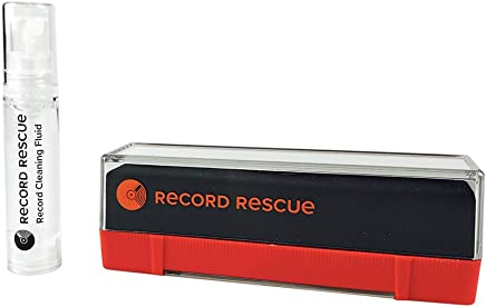 Velvet Record Cleaning Brush with Record Cleaning Fluid - Record Cleaning Kit | Record Rescue