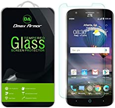 [2-Pack] Dmax Armor for ZTE ZMax Champ LTE [Tempered Glass] Screen Protector