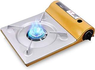 Leezo Puissant r/échaud de Camping Multi-combustibles pour Le Propane en Plein air r/échaud /à gaz pour la Cuisson au Four de Pique-Nique pour Les ustensiles de Cuisine en Plein air