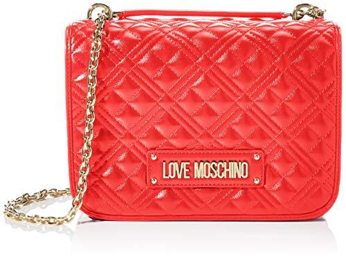 Love Moschino Women's JC4200PP0BKA0 Shoulder Bag, red, Standard