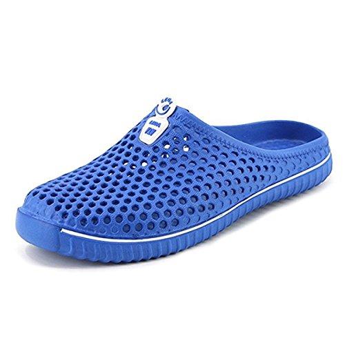 petit un compact Chaussons gracosy pour homme et femme, sabots en PVC, chaussures plates d'été outdoor outdoor…