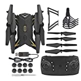 Cocosity Quadcopter, Drone KY601S RC WiFi RC Drone, Pieghevole Portatile per RC Quadcopter Drone(Black, 5 Million WiFi)