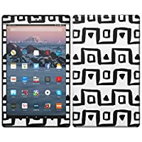 igsticker Kindle Fire HD 10 第7世代 全面スキンシール タブレット tablet シール ステッカー ケース 保護シール 背面 050806
