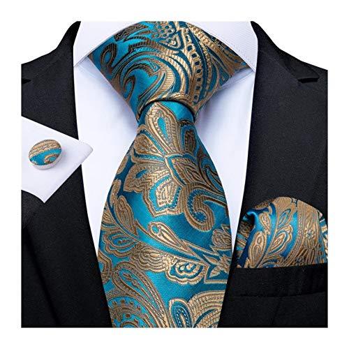 Without Corbatas Lazos para Hombres Lazo del Partido de los Hombres for la Boda Lazo for Hombre Planet diseño de la Novedad de la Seda de Visita de Moda del pañuelo Corbata (Color : 25)