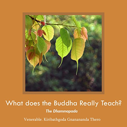 What Does the Buddha Really Teach? cover art