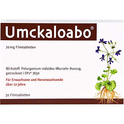 Umckaloabo 20 mg Filmtabletten, 30 St. Tabletten
