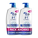 H&S Classic 2 En 1 Champú Anticaspa Y Acondicionador 2x900ml