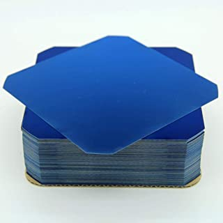 Sunpower New Solar Cell Flexible Mono Solar Wafer Monocrystalline Cells Tabbing for DIY Solar Panel High Efficiency 3.4W C60 5x5 Safe Packing (40)