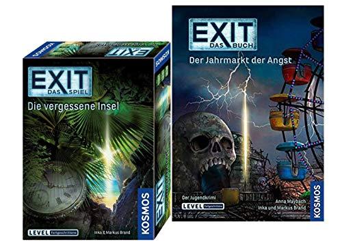 EXIT Kosmos Spiele 692858 Spiel: Die vergessene Insel Buch - Der Jahrmarkt der Angst Taschenbuch