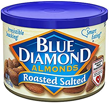 24-Count Blue Diamond Almonds, Roasted Salted, 6 Ounce