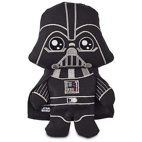 Petco Star Wars Darth Vader Flattie Dog Toy (9' Medium)