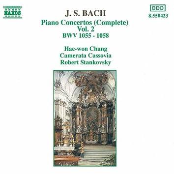 BACH, J.S.: Piano Concertos, Vol.  2 (BWV 1055-1058)