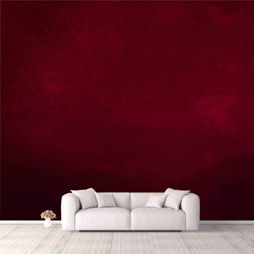 Dark wall mural for home SKU 20410 Wall decor for bed r\u043eom Red flower wallpaper Floral Wallpaper Desing wall mural for living room