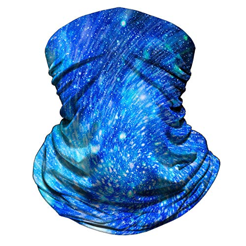 Bandana for Rave Face Mask Dust Wind Sun, Neck Gaiter Tube Mask Headwear, Motorcycle Face Mask for Women Men Face Scarf