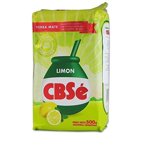 CbSe Yerba mate, Limón - 500 g