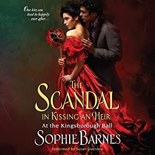 The Scandal in Kissing an Heir audiobook cover art
