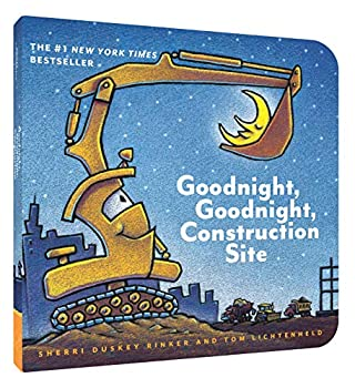 Goodnight Goodnight Construction Site  Board Book for Toddlers Children s Board Book
