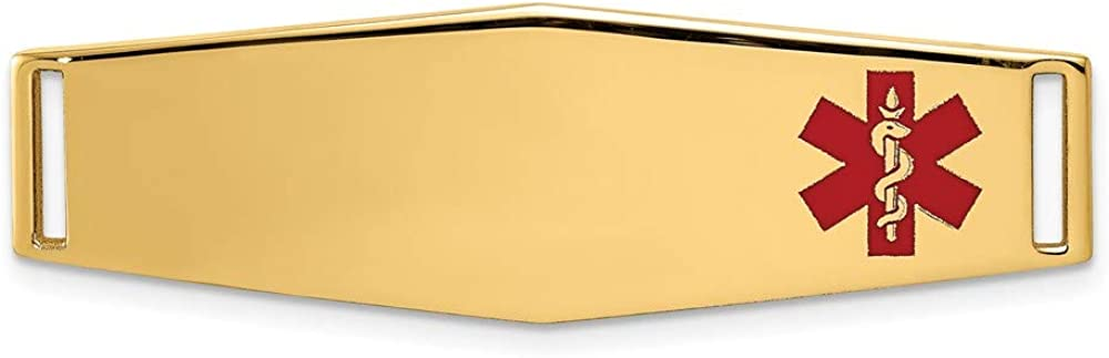 Epoxy Enameled Medical Max 58% OFF ID Off Ctr latest 820 Soft Shape Diamond Plate #