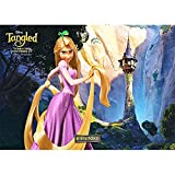 Vinyl Princess Background 7x5ft Fairy Tale Rapunzel Tower Backdrop for Baby Shower Rapunzel Birthday Backdrops for Girls Party Decoration
