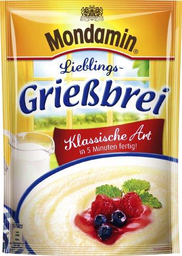 Mondamin Grießbrei Klassische Art, 4er-Pack (4 x 500 ml)