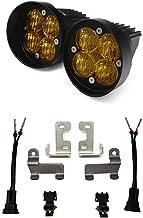 Baja Designs 4Runner 2010+ Squadron SAE Amber FPK Pair LED Fog Light Kit