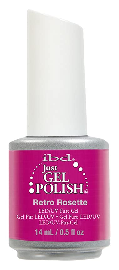 ページ医療の列車IBD Just Gel Polish - Retro Rosette - 0.5oz / 14ml