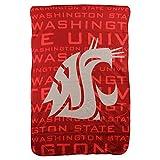 Northwest NCAA Collegiate Team Logo Fleece Throw Blanket 40' x 60' (Washington State Cougars)