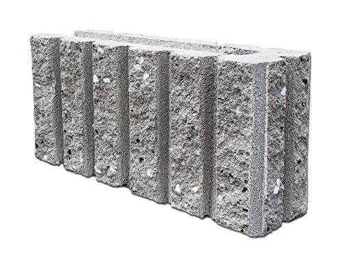 久保田セメント工業 コンクリートブロック みかげ色 5本ライン コーナー用 2個入り 2514102(2P)