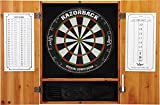 Viper Metropolitan Solid Wood Cabinet & Sisal/Bristle Dartboard Ready-to-Play Bundle: Premium Set...