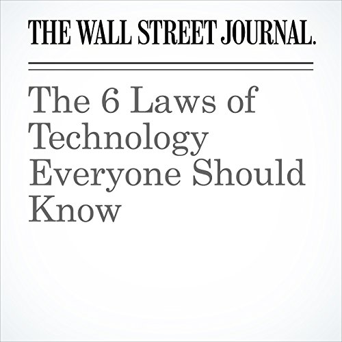 The 6 Laws of Technology Everyone Should Know copertina