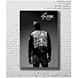 G-Eazy Rap Musik Sänger Rapper Art Poster Leinwandmalerei