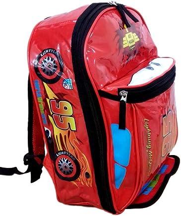 d065f8844 Mochila Infantil Carros Disney Costa McQueen Tamanho M
