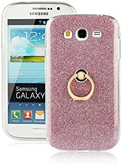 Galaxy Grand Neo Case,Ultra-thin 360 Degree Rotating Ring Holder Kickstand Case Flexible Soft Gel TPU Bling Glitter Sparkle Back Cover for Samsung Galaxy Grand Duos i9082/Neo i9060
