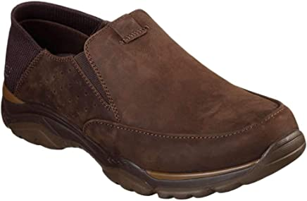 b60d505e6056 Skechers Relaxed Fit Rovato Masego Mens Slip On Loafers